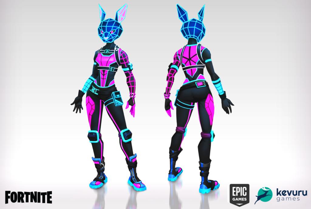 Concept art - Bunnywolf