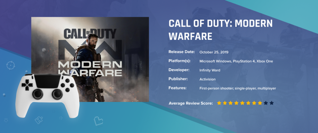 Call of Duty: Modern Warfare - Best-Selling Games in 2020: Key Factors of Success, Demand Trends and Forecasts of Future Leaders