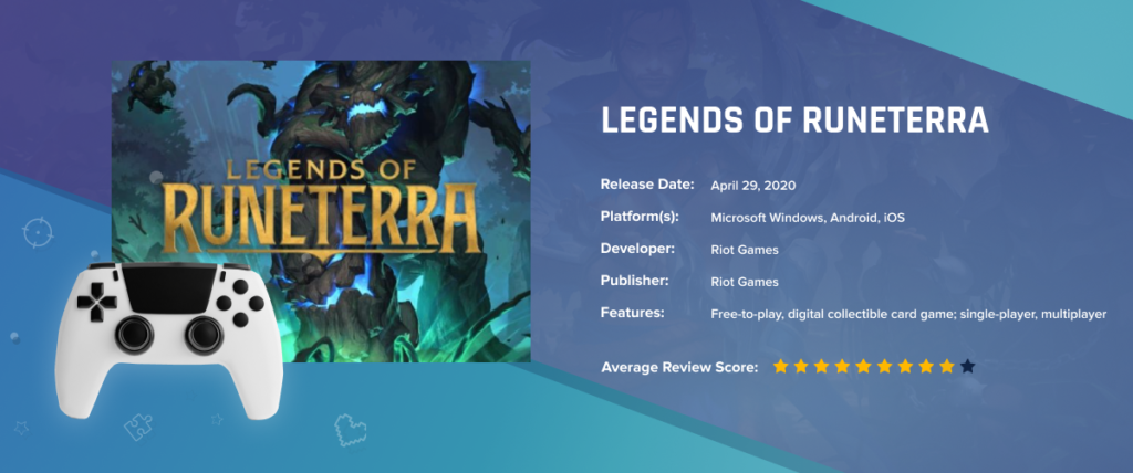 Legends of Runeterra - Best-Selling Games in 2020: Key Factors of Success, Demand Trends and Forecasts of Future Leaders