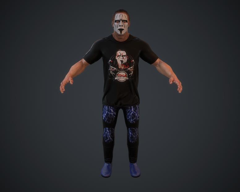 Wrestlers models