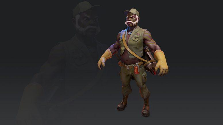 Black Guy 3D Model