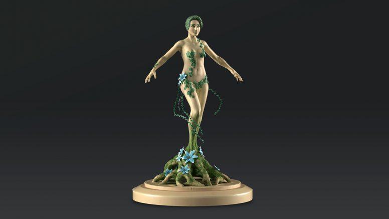 Dryad 3D model