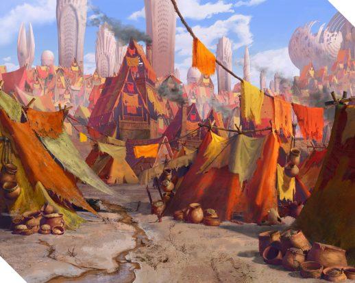 2D art background