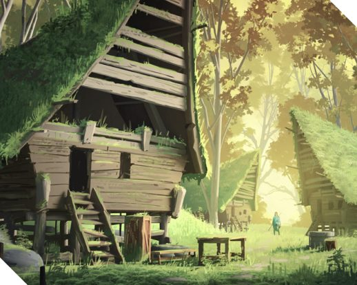2D Animation background