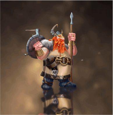 viking animation